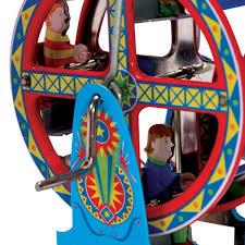 ferris wheel tin penny toy vintage style tin toys retroplanet com