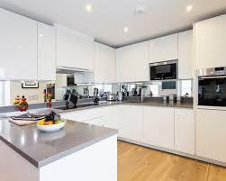 Kitchen Ideas Westbourne Grove Mirrored Splashback Kitchen Ideas U0026 Inspiration
