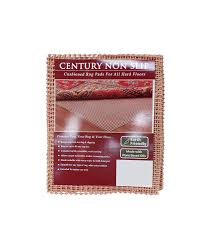 amazon com naturalarearug century non slip rug pad earth friendly