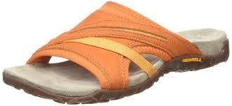 merrell womens boots sale merrell terran slide ii s sandals orange shoes merrell
