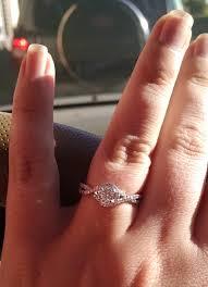 moissanite bridal reviews moissanite which where how weddingbee