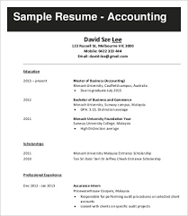 Sample Resume For Accounting Position by Resume Examples Job Sample Accounting Job Resume Example 10