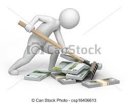 clipart money pot of money clipart 2091534