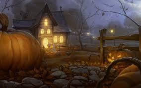 download wallpaper 3840x2400 halloween holiday night home