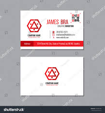 red abstract business card design template stock vector 743232784
