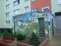 touring the artistic wall murals in the district of zaspa gda sk touring the artistic walls murals in the district of zaspa gda sk poland
