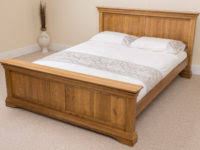 shaker style oak bedroom set from dutchcrafters amish wrap around