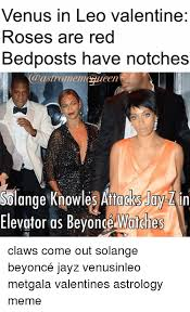 Solange Meme - venus in leo valentine roses are red bedposts have notches castro