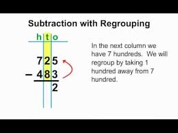 mathnook tutorial subtraction with regrouping homeschool
