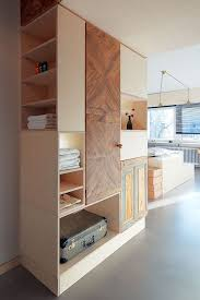 Bedroom Storage Furniture Tiny Apartment Interior Design Flexible And Functional Concept