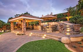 San Diego Landscape by Outdoor Living Spaces With Bbq Island Gallery Of San Diego