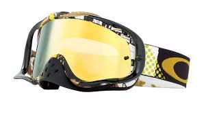 oakley goggles motocross oakley crowbar mx mosh pit gold 24k iridium goggles buy cheap