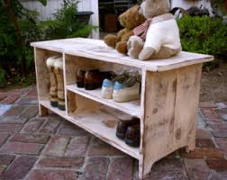 Solid Wood Entryway Storage Bench Wood Shoe Shelf Storage Bench Entryway Hall Shoe Storage