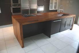 cuisine plan de travail bois massif plan de travail en bois massif pour cuisine cuisine naturelle en