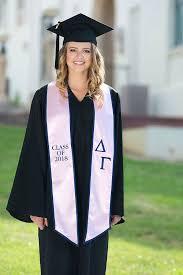 graduation stole gamma 2018 graduation stole
