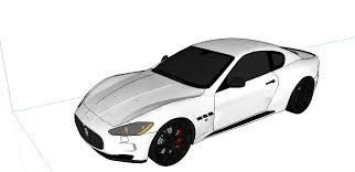 white maserati png file sketchup car model png wikimedia commons
