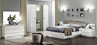 ameublement chambre chambre à coucher italienne onda blanc chambre meuble italien
