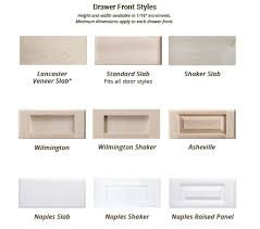 kitchen cabinet door fronts and drawer fronts custom cabinet drawer front styles kitchen cabinet door
