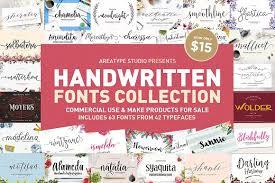 script fonts creative market