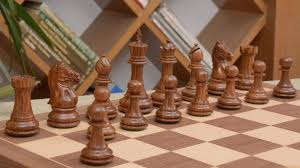 combo of fierce knight staunton chess pieces u0026 walnut maple