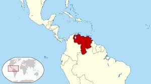Map Of Countries In South America by Large Location Map Of Venezuela In South America Vidiani Com