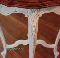 French Country Side Table - old things new u2013 painted furniture u0026 misc