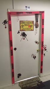 halloween door ideas decorations halloween party halloween ideas static cling zombie