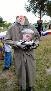 Halloween Costume Headless Man Holding Head Diy Headless Costume 4 Steps Pictures