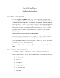 10 best images of identifying lab equipment worksheet science