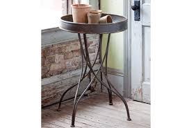 round metal side table round metal side table antique farmhouse antique farmhouse