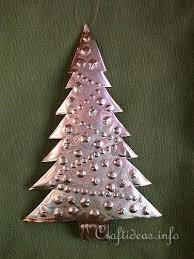 free ornament craft for embossed metal tree b