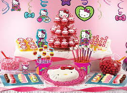 Party City Minnie Mouse Decorations Hello Kitty Sweets U0026 Treats Hello Kitty Party Ideas Girls