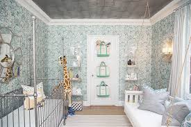 Wild Things Interiors Canopy Crib Eclectic Nursery Play Chic Interiors