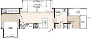 crossroads fifth wheel floor plans 5th wheel front bunkhouse floor plans google search cing