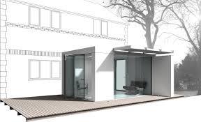 glass box modular house extension nicolas tye architects glass