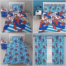 Spiderman Double Duvet Boys U0027 Spider Man Bedding Sets U0026 Duvet Covers For Children Ebay