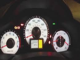 honda check engine light reset oil maintenance light 2009 to 2010 honda pilot youtube