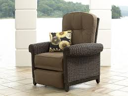 Lazy Boy Wicker Patio Furniture by La Z Boy Outdoor Dmax Rc Maddox Recliner Sears Outlet