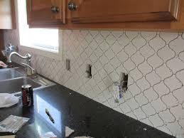 Moroccan Tile Backsplash Eclectic Kitchen 34 Best Arabesque Moroccan Tile Images On Pinterest Bright