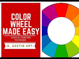 acrylic painting tips color wheel made easy how to make a color