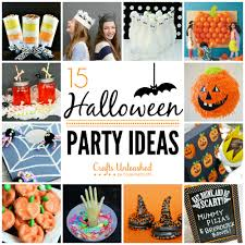 Cheap Halloween Party Ideas by Halloween Party Ideas Crafts Unleashed Hallowen Craftsunleashed