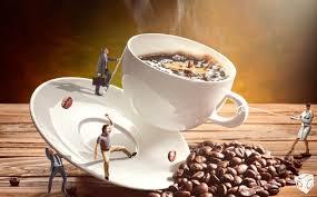 Coffee War speed adobe photoshop coffee war