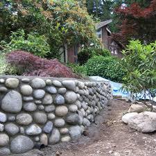 10 natural rock garden walls rock wall and rock border
