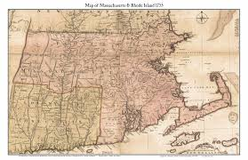 map of ma and ri prints of massachusetts state maps