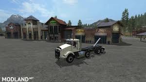kenworth t800 kenworth t800 twinsteer hooklift v 1 0 mod farming simulator 17