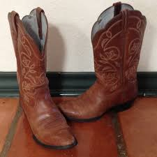 ariat womens cowboy boots size 12 35 ariat boots ariat russet heritage r toe