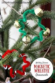 magnetic ornaments science and craft activity