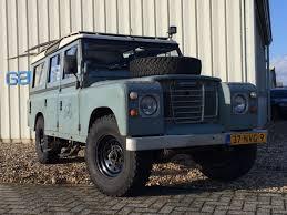 land rover daktari occasion land rover series 3 109 stawag stationwagon benzine 1982
