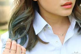 blue ash color ash blue grey dip dye new year new hair small n hot