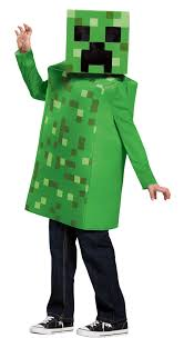 minecraft costume minecraft creeper classic child costume costumes au